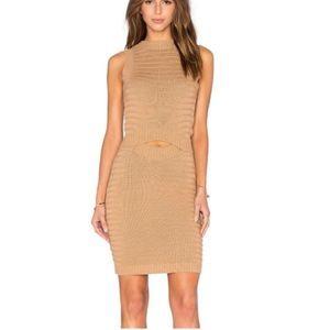 Callahan REVOLVE Cut Out Textured Sweater Dress